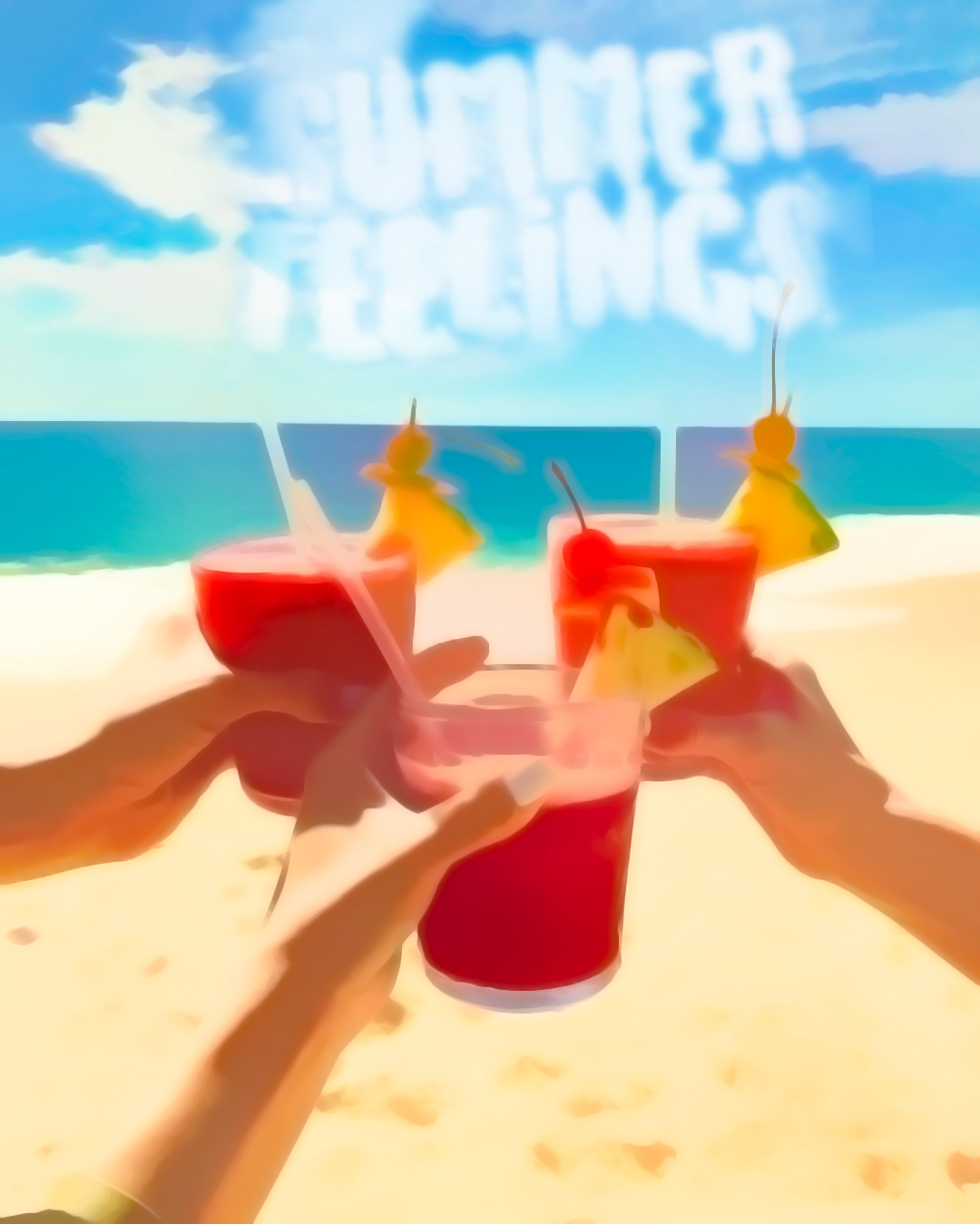 Summer Feelings - paint