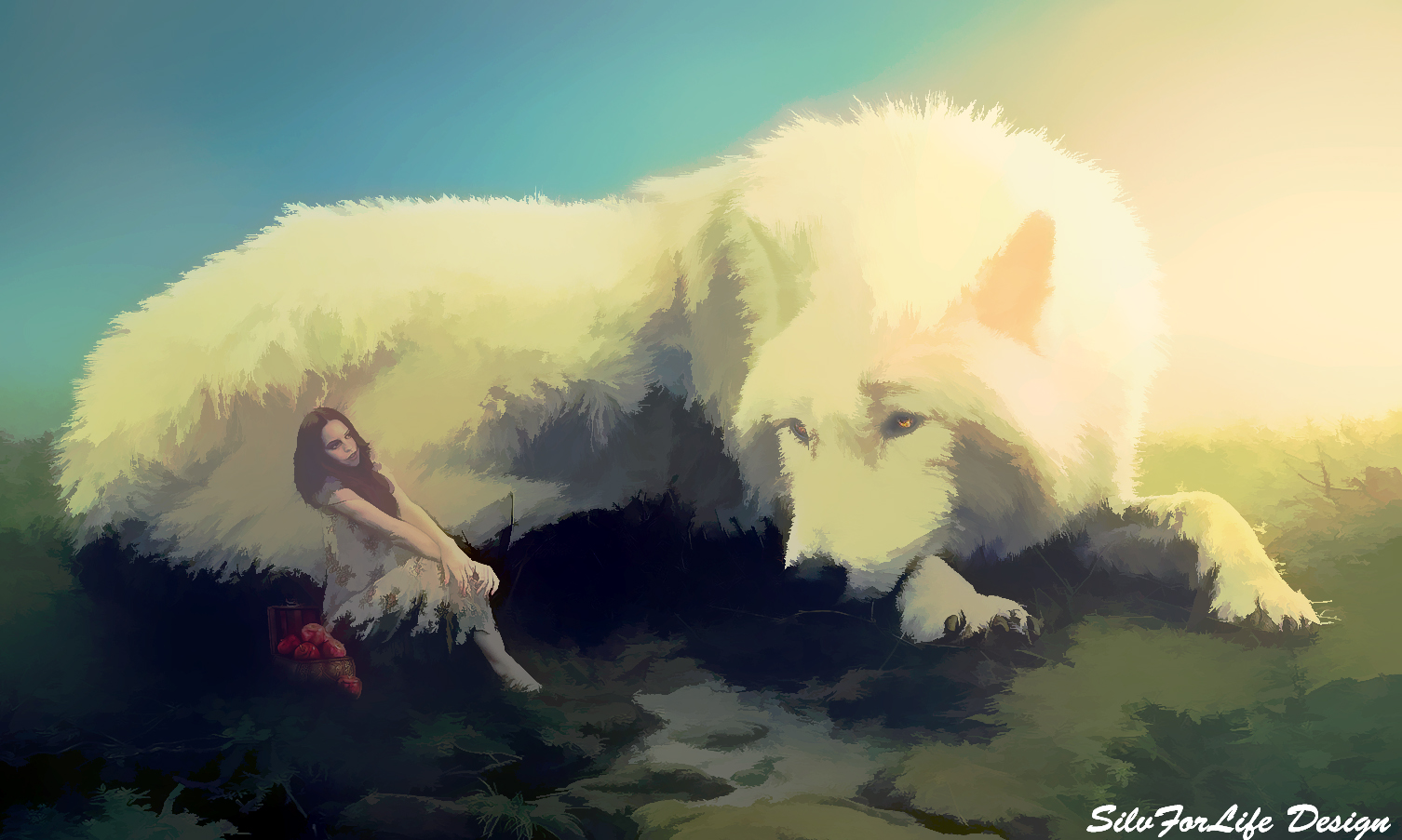 Big Wolf Photoshop Manipulation Tutorial rafy A
