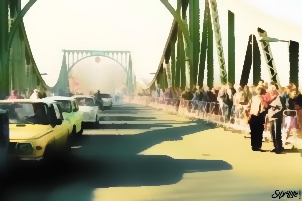 Tag der Grenzöffnung in Berlin - Paint