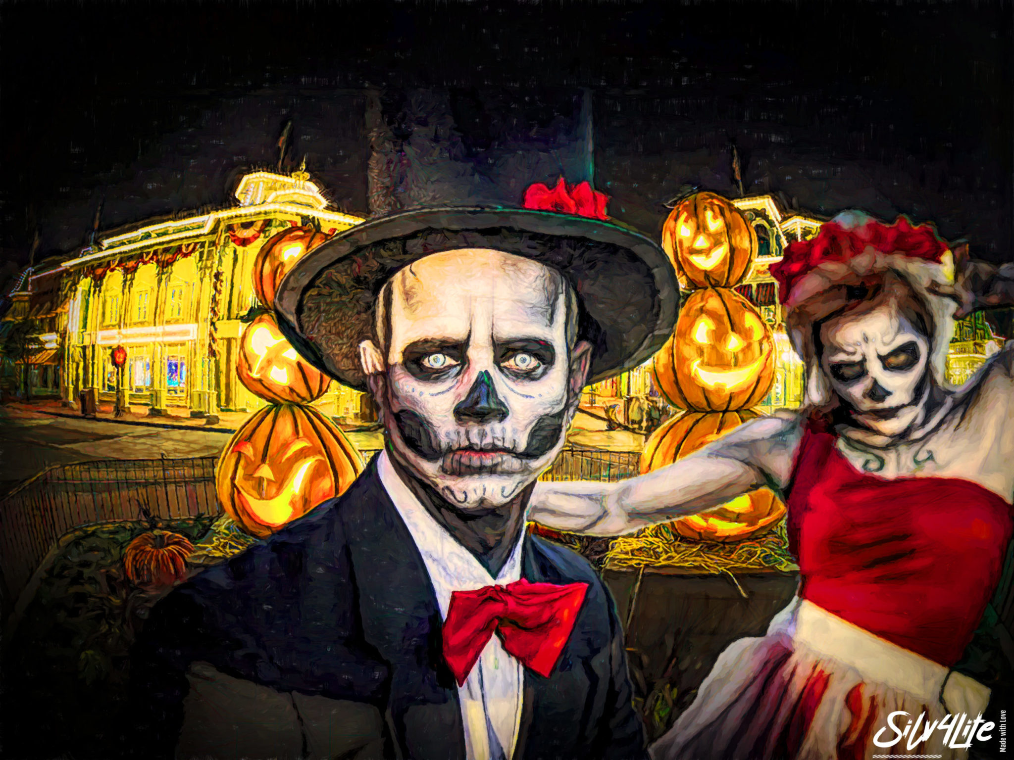 Halloween Town #1 - Paint