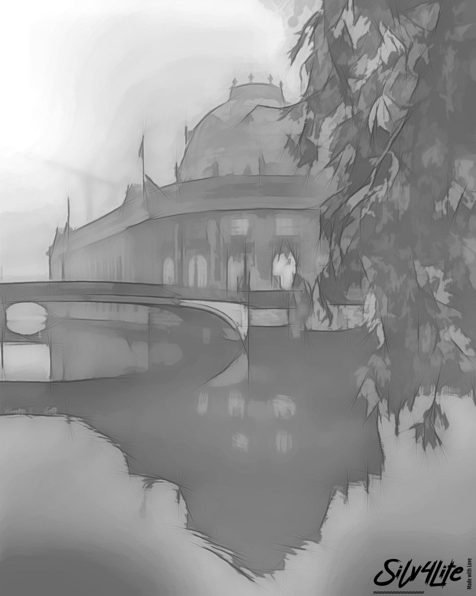 Zerletti_Berlin_Dom - Draw