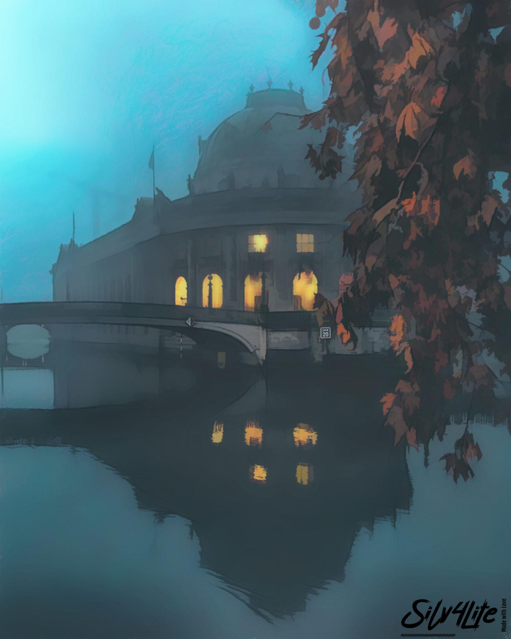 BLN Bode Museum Autumn – Paint