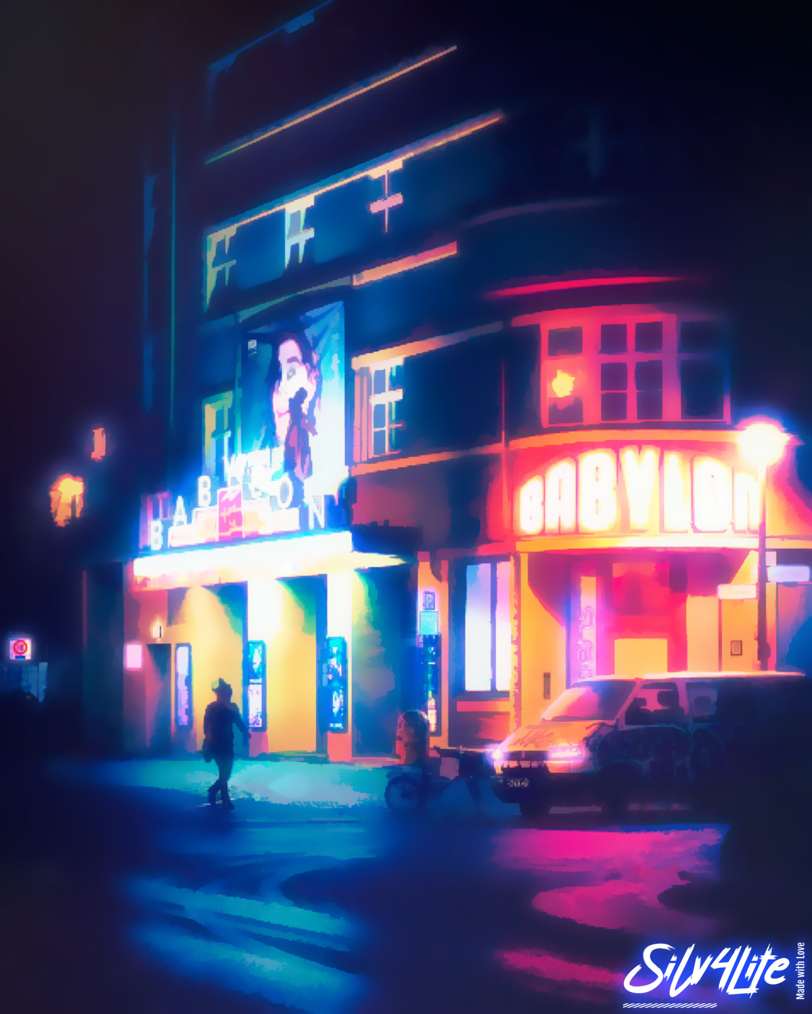 Berlin Babylon - Retro - Paint
