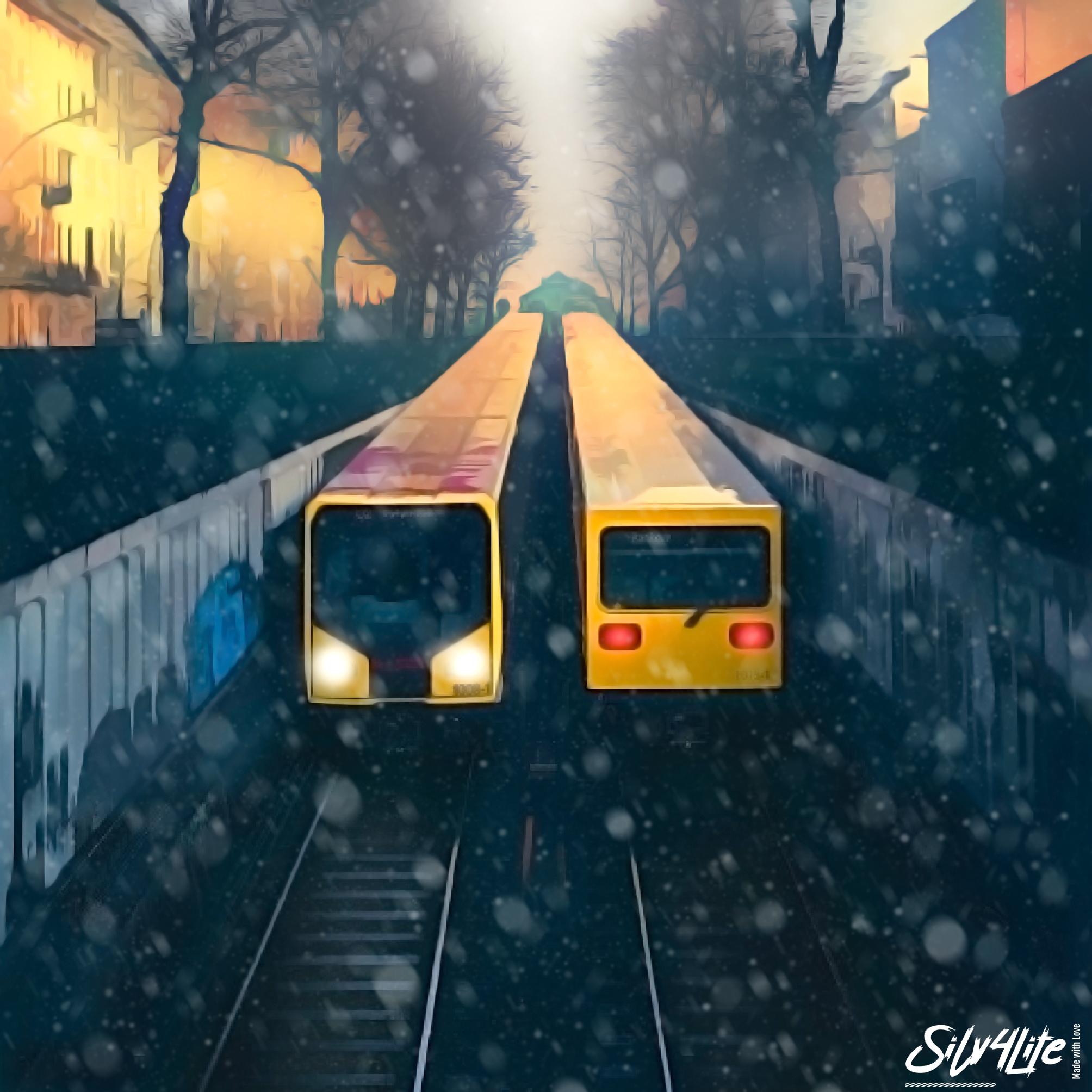 U-Bahn Berlin - paint 2021