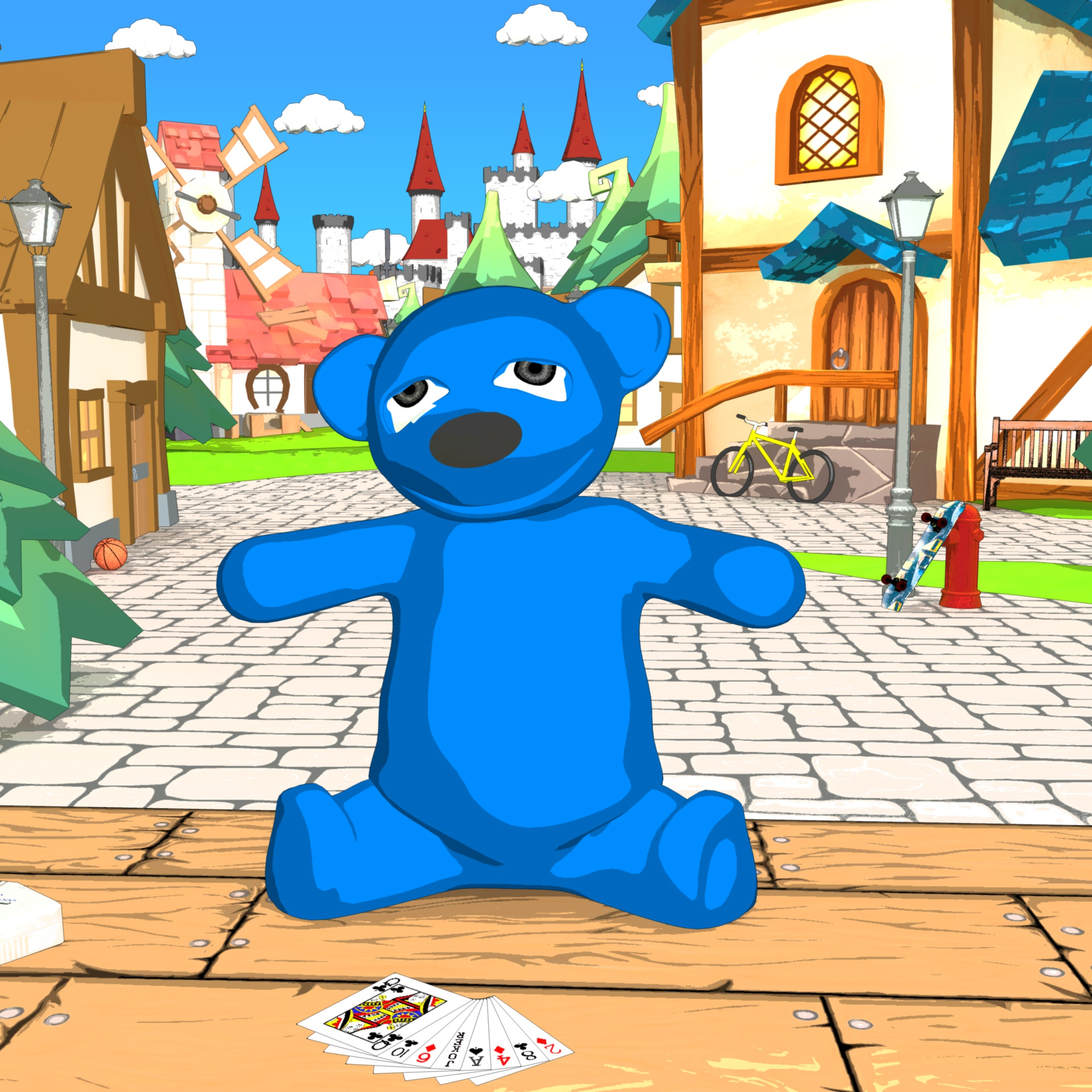 Read more about the article Gummybear – 3D Cartoon Visualisierung